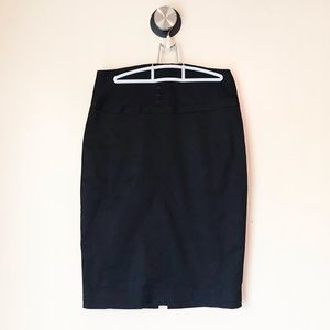 Express Eye and Hook Front Pencil Skirt